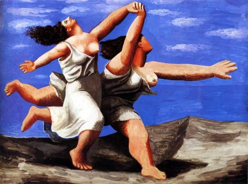 Dos mujeres corriendo en la playa, Pablo Picasso, 1922
